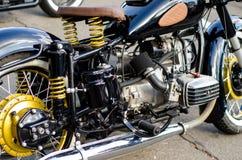 Close-up da motocicleta imagens de stock