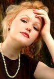 Close up da mulher Imagens de Stock