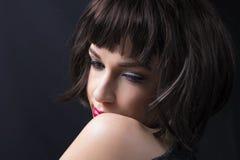 Close up da mulher Foto de Stock