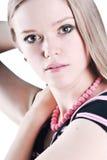 Close-up da mulher bonita Fotos de Stock Royalty Free