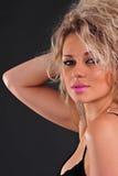 Close-up da mulher bonita imagem de stock royalty free