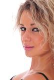 Close-up da mulher bonita imagens de stock