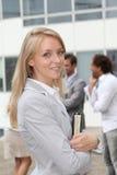 Close up da mulher de negócios imagens de stock royalty free