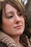 Close up da mulher nova Fotos de Stock