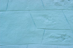 Close up da parede azul Imagens de Stock Royalty Free