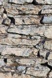 Close up da parede de pedra Foto de Stock Royalty Free