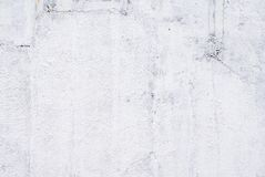 Close up da parede pintada branca foto de stock royalty free