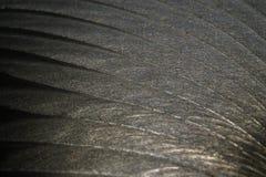 Close-up da parte plana de aço inoxidável da cor cinzenta realística industrial no foco parcial após o CNC industrial que distrib fotos de stock royalty free