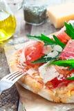 Close up da pizza de Italy fotos de stock royalty free