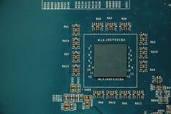 Close-up da placa eletrônica imagens de stock