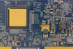 Close-up da placa eletrônica fotografia de stock royalty free
