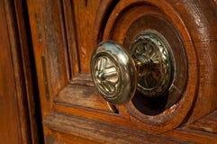 Close up da porta Imagem de Stock