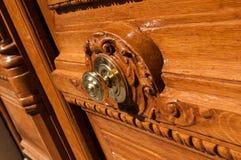 Close up da porta Fotos de Stock Royalty Free