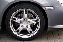 Close up da roda Imagens de Stock