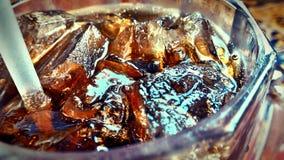 Close-up da soda imagens de stock