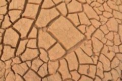 Close up da terra seca Fotografia de Stock