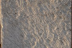 Close-up da textura do arenito para o fundo Relevo dedicado fotos de stock