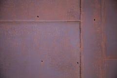 Close-up da textura do metal de Brown Imagens de Stock Royalty Free