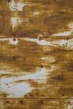 Close-up da textura do metal de Brown Foto de Stock Royalty Free