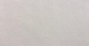 Close up da textura sem emenda do couro branco Fundo com textura do couro branco Fotos de Stock Royalty Free