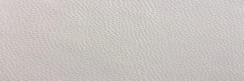 Close up da textura sem emenda do couro branco Fundo com textura do couro branco Imagem de Stock