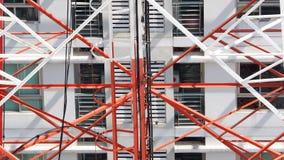 Close up da torre da telecomunicação Foto de Stock