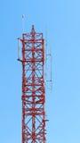 Close up da torre da telecomunicação Imagem de Stock Royalty Free