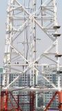 Close up da torre das telecomunicações Fotos de Stock Royalty Free