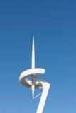 Close-up da torre das telecomunicações de Calatrava Imagens de Stock