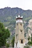 Close-up da torre de vigia imagem de stock royalty free