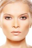Close-up da vista dianteira da beleza com composição natural Fotografia de Stock Royalty Free