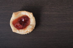 Close up Danish pastry Royalty Free Stock Images