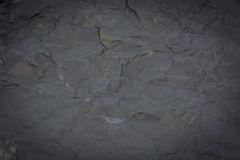 Close up dark black paper surface Royalty Free Stock Photos