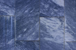 Close up Dark Blue Marble Texture Background Stock Photography