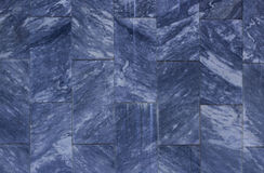 Close up Dark Blue Marble Texture Background Stock Image