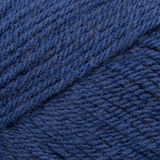 Close Up of Dark Blue Yarn in a Diagonal Pattern Royalty Free Stock Photography