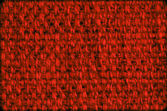 Close up of dark red wool textile Stock Image