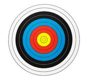 Close-up of a dartboard royalty free stock images
