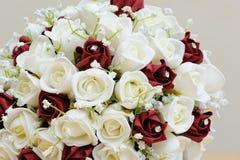 Close-up das flores artificiais Imagens de Stock