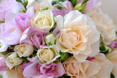 Close up das flores das noivas. Fotos de Stock Royalty Free