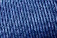 Textura da corda de fio - cabo ou corda de fio de aço resistente para o heav Imagem de Stock