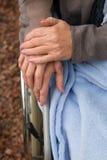Close up das mãos das mulheres Foto de Stock Royalty Free