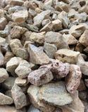 Close up das rochas Imagens de Stock