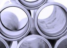 Close up das tubulações de esgoto imagens de stock