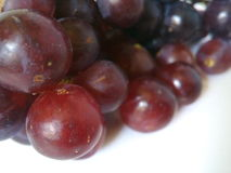 Close up das uvas vermelhas Imagem de Stock Royalty Free