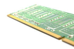 The close up of DDR ram Stock Photo