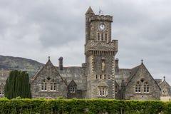 Close up de Abbey Highland Club no forte Augustus, Escócia Foto de Stock Royalty Free