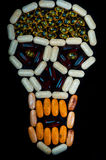 Close up de alguma medicina Imagem de Stock Royalty Free