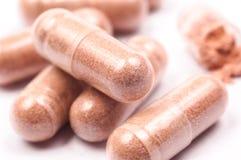 Close up de alguma medicina Imagem de Stock