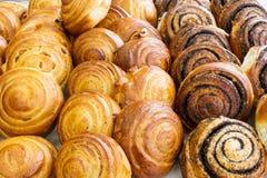 Close-up de alimentos doces cozidos imagens de stock royalty free